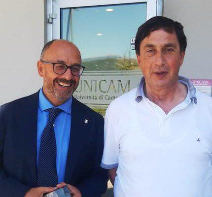 Unicam – incontro con il Rettore Pettinari